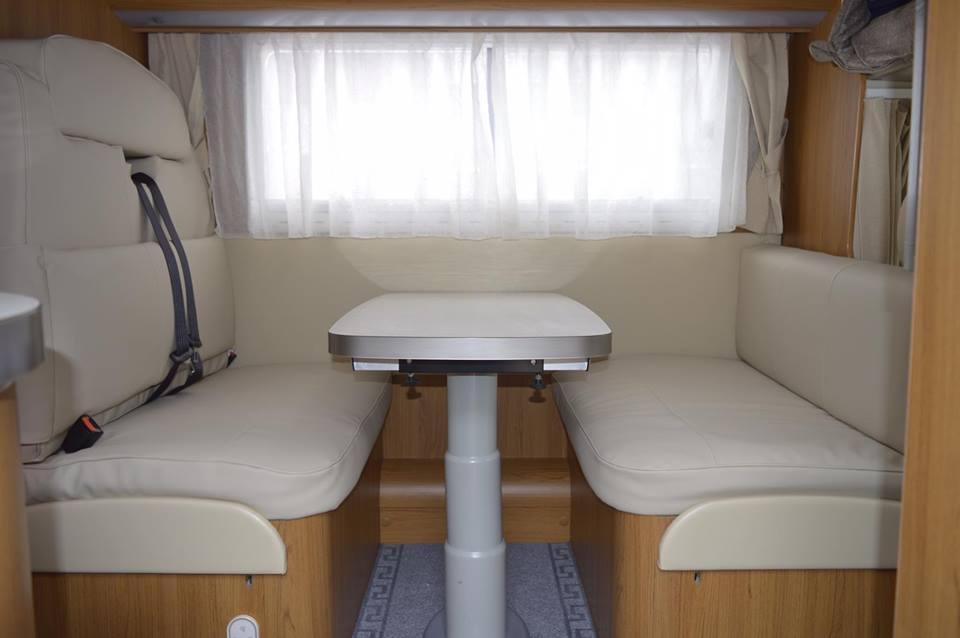 Herstofferen caravan, mobilhome of boot - Nieuw interieur